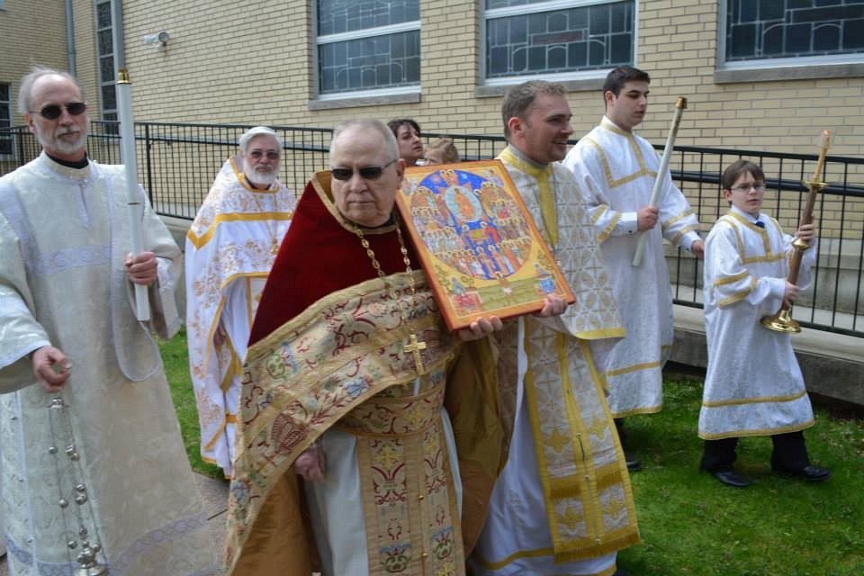 Procession with All Saints Icon